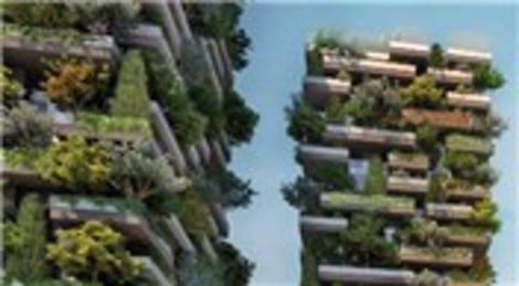İtalya Milano'daki Bosco Verticale projesi ormanı andırıyor