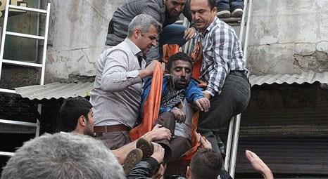Gaziantep'te iş hanında yangın: 2 ölü, 45 yaralı