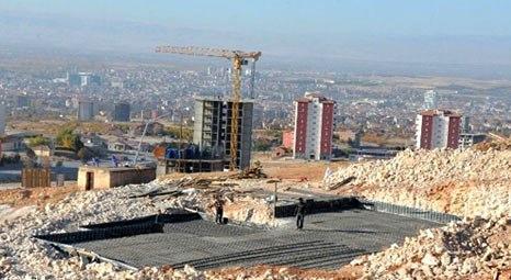 Malatya'da TOKİ bölgesine bin tonluk su deposu