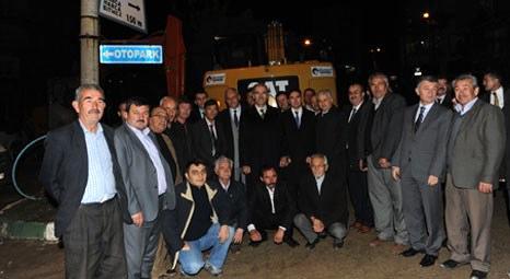 Bursa Büyükşehir Belediyesi, Büyükorhan'ın altyapı sorununu çözdü