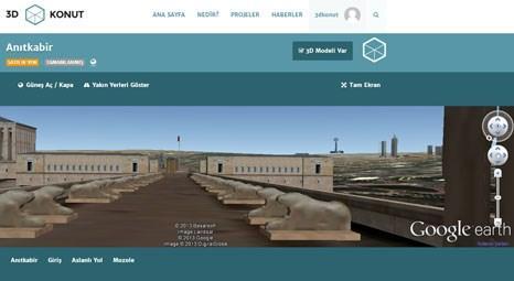 3DKonut.com, kullanıcılarına Anıtkabir'i sanal ziyaret olanağı sunuyor