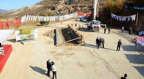 Düzce Katı Atık Tesisi'nin temeli atıldı
