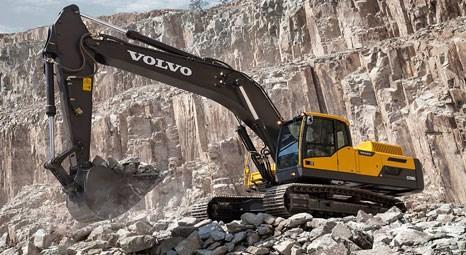 Volvo, EC350D ile ekskavatördeki ürün gamını 70 tona tamamladı