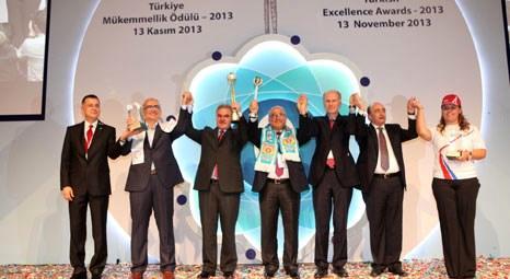 Tarsus Belediyesi, Türkiye Mükemmellik Ödülü'nü kazandı