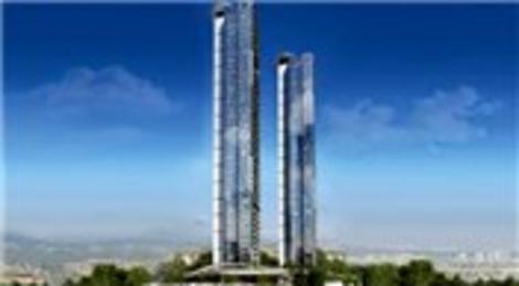 Çiftçi Towers projesinde fiyatlar 1.8 milyon dolardan başlıyor