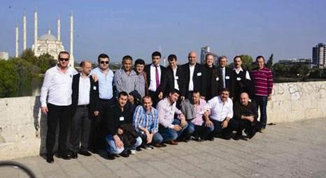 İstanbullu inşaatçılar Adana'yı çok beğendi