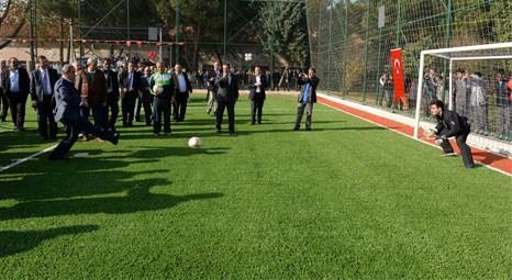 Bursa Büyükşehir Belediyesi eğitim kurumlarına spor tesisi kazandırıyor