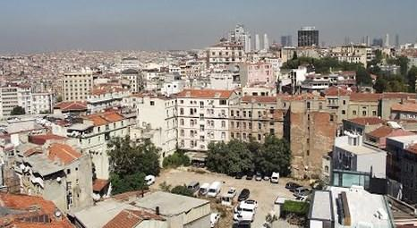 İstanbul Beyoğlu'nda 2.2 milyon TL'ye icradan satılık bina