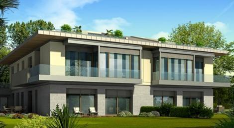 Mesa Çamlıca Villaları'nda 1 milyon 550 bin dolara