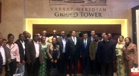 Tanzanyalı Heyet Varyap projelerini ziyaret etti