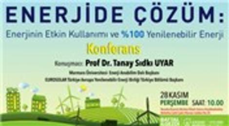 Ataşehir Belediyesi 'Enerjide Çözüm Konferansı' düzenliyor