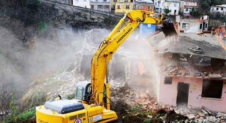 Kentsel dönüşüm kapsamında her 10 binadan biri yıkıldı