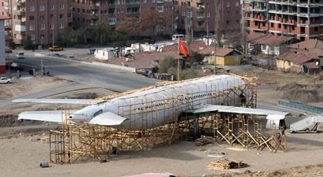 Çankırı'da yolcu uçağı kütüphane oluyor
