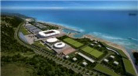 Trabzon Akyazı Spor Yerleşkesi'nin temeli bugün atılıyor