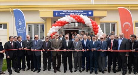 Bursa Büyükşehir Belediyesi bir spor salonuna daha imza attı