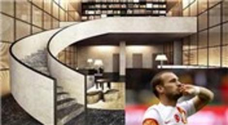 Wesley Sneijder'in 700 metrekarelik evi