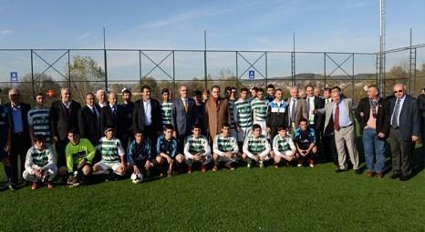 Bursa Büyükşehir Belediyesi Geçit Spor Tesisleri'ni hizmete açtı