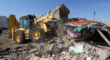 Sultanbeyli Belediyesi kaçak yapıyla mücadeleye devam ediyor