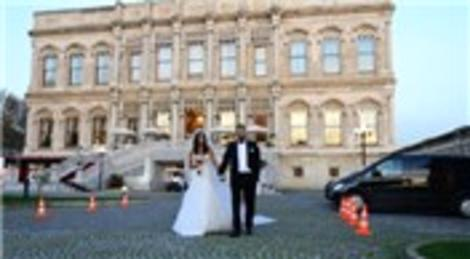 Ünal İnşaat'ın mutlu günü, Murat Keçeli ile İnci Hortoğlu evlendi