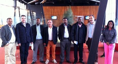 Batışehir, Addis Ababa Belediye Başkanı'nı ağırladı
