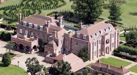 Beckham çiftinin 100 milyon liralık yeni sarayındaki odalar dikkat çekiyor