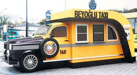 İstanbul'da taksi durakları kenti süsleyecek