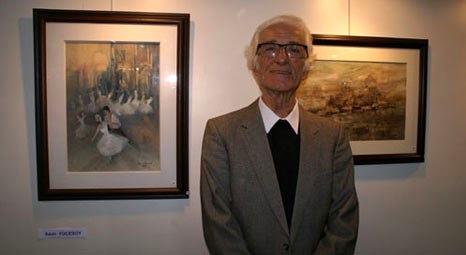 Amasyalı ressam Asım Yücesoy'un sergisi başkentte açıldı