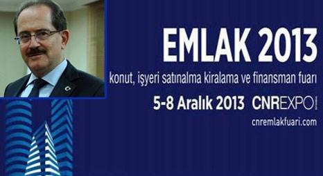 Ahmet Haluk Karabel'in katılımıyla yarın Emlak Fuarı açılıyor