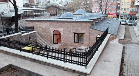 Bursa Büyükşehir Belediyesi Muallimzade Hamamı'nı özgün yapısına kavuşturuyor