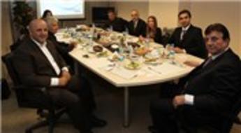 Vitrin İnşaat, Panagiotis Koutsikos ve heyetini ağırladı