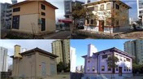 Ataşehir Belediyesi trafo binalarını Safranbolu Evleri'ne dönüştürüyor