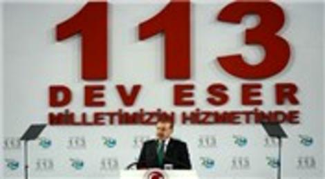 Recep Tayyip Erdoğan 113 tesisin açılışını yaptı