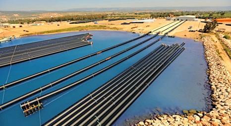 KKTC'nin içme suyunu Fırat Boru 500 metrelik hatlarla sağlıyor