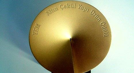 Altın Çekül yapı ürün ödülleri 28 Mart'ta sahiplerini bulacak