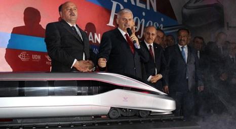 Binali Yıldırım 'Türkiye'nin milli treni 2018'de geliyor'