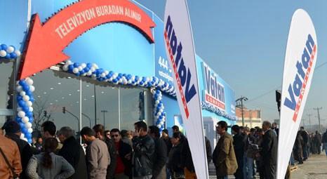 Vatan Bilgisayar 91. mağazasını bugün Uşak'ta açtı