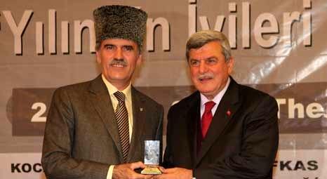 Recep Altepe 'Yılın En İyi Belediye Başkanı' seçildi