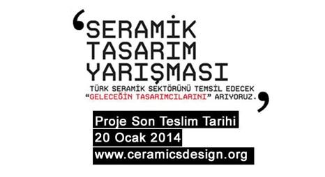 Seramik Tasarım Yarışması'nın başvuruları devam ediyor