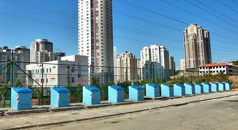 Ataşehir'de yeraltı çöp konteynırı sistemi yaygınlaşıyor