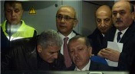 Recep Tayyip Erdoğan, Ankara-İstanbul yüksek hızlı tren test sürüşüne katıldı