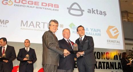 Aktaş Holding'e AR-GE ve İnovasyon ödülü verildi
