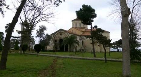 Trabzon Ayasofya'daki tarihi eserler müzeye taşındı