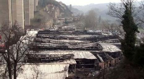 Beykoz Sosyete Çarşısı yangınında 170 işyeri kullanılamaz hale geldi