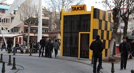 İstanbul'da modern taksi durakları inşa ediliyor