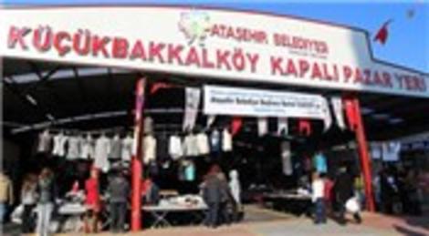 Ataşehir Belediyesi, Küçükbakkalköy Kapalı Pazar Yeri'ni hizmete açtı