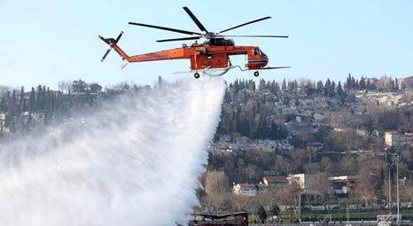 Alev Kartalı, İstanbul'da çıkan yangınlara müdahale edecek