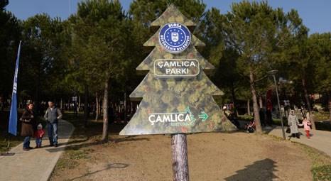 Bursa Büyükşehir Belediyesi Nilüfer Çamlıca Parkı'nı hizmete açtı