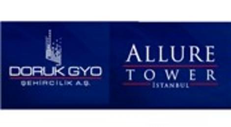 Allure Tower İstanbul, Nisan'da satışa çıkacak