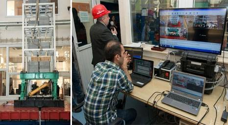İTÜ Sarsma Masası, deprem mühendisliği için hizmete açıldı
