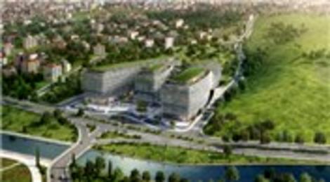 Premier Kampüs Ofis, Kağıthane'de yükseliyor